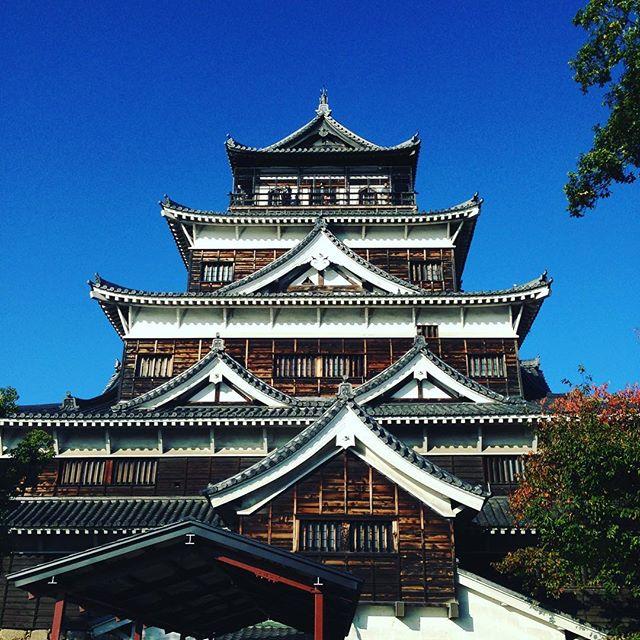 ちょっと前に広島城や宮島の弥山山頂まで行きました!...