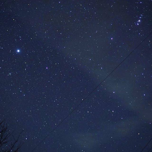 晴れた日は、冬は、空気が澄んでるから満天の星空で、...