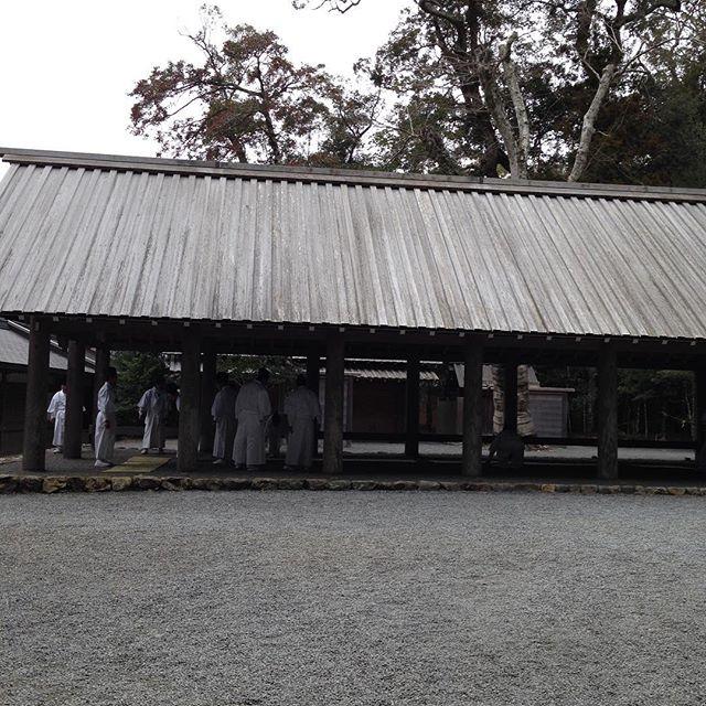 平成最後の建国祭で、あいうえお農園も奉納するので、伊勢神宮に来てます!収穫出荷は、奉納あと予定をしてます