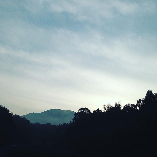 10月末日9℃まで気温が下がりました!この気温の変化で、山は次第に秋の紅葉が始まります!