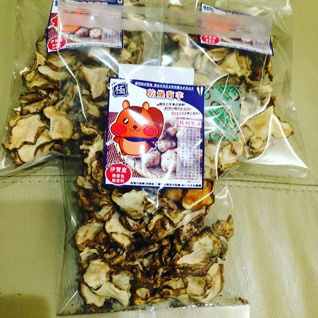 お酒の飲む時期にぴったり菊芋チップ!試食予定です。