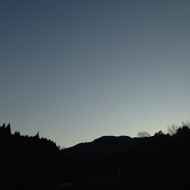 気温0℃快晴で霜が降りてます!風もなく冷たい朝です。