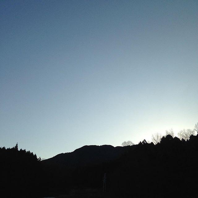 気温1℃西の微風で晴れてます!節分の次は立春で暦では、春ですね〜今日は晴れて穏やかになる予報で、明日は最強寒波がやって来るそうです!現在畑は霜が降りてます!